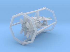 F-22 w/Gear x4 (MD) in Smooth Fine Detail Plastic: 1:700