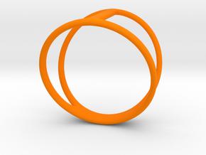 Yumi collection - Size 6 US in Orange Processed Versatile Plastic