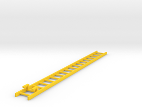 Corgi Ladder 11.4cm - American La France part  in Yellow Processed Versatile Plastic