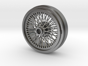 1/8 Wire Wheel Rear, with 72 spokes in Natural Silver