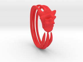 Phneergeoboros Bracelet in Red Processed Versatile Plastic