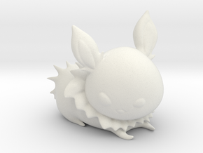 Jolteon in White Natural Versatile Plastic