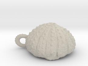 Small  Urchin Pendant in Natural Sandstone