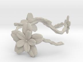 Flower Bracelet in Natural Sandstone