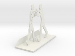 Molecule Man in White Natural Versatile Plastic