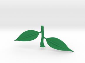 Lemon Leaves in Green Processed Versatile Plastic