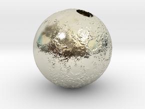 Full Silver Moon (Pendant 20mm) in 14k White Gold