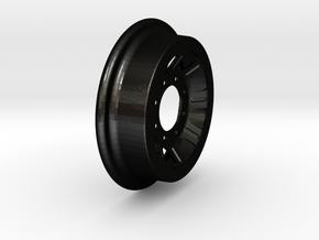 Fairmont Speeder or Handcar Wheel 1:8 scale in Matte Black Steel