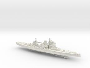 1/1800 HMS Queen Elizabeth [1943] in White Natural Versatile Plastic