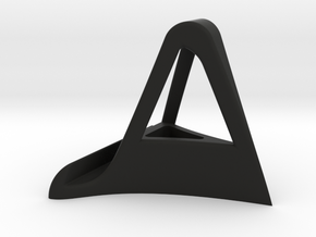 IPad Stand in Black Natural Versatile Plastic