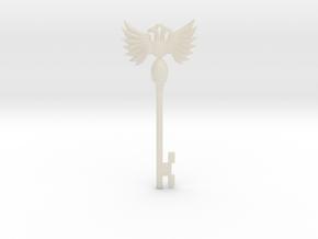 Resident Evil Rev2: Emblem Key in White Acrylic