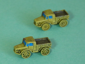 Radschlepper Ost perforated Wheels 1/285 6mm in Frosted Ultra Detail