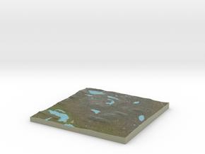 Terrafab generated model Fri Jul 31 2015 23:43:50  in Full Color Sandstone