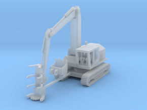 Tigercat 860C Feller Buncher Z Scale in Smooth Fine Detail Plastic
