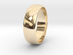 Hugo - Ring in 14k Gold Plated Brass: 7.75 / 55.875