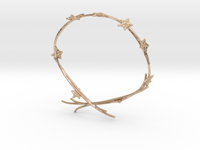 Ivy Bracelet in 14k Rose Gold Plated Brass