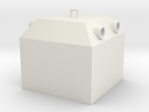 A 022-1Glaskontainer in White Natural Versatile Plastic