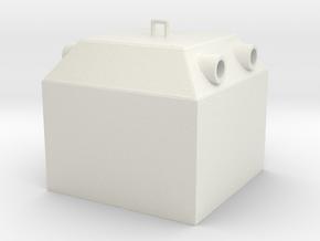 A 022-1Glaskontainer in White Natural Versatile Plastic