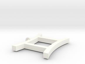 Sollux Pendant in White Processed Versatile Plastic