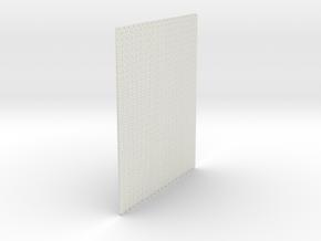 A-nori-tall-bricks-sheet2a in White Natural Versatile Plastic