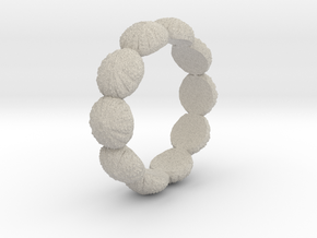 Urchin Ring 1 - US-Size 11 (20.68 mm) in Natural Sandstone