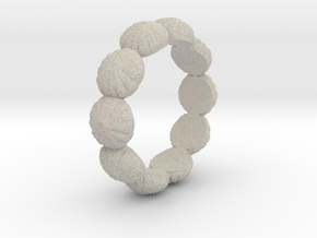Urchin Ring 1 - US-Size 9 (18.89 mm) in Natural Sandstone