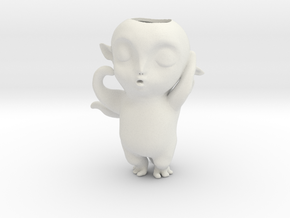 Monster Hunt Planter,怪物狩猎 in White Natural Versatile Plastic