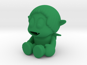 Evil  John in Green Processed Versatile Plastic