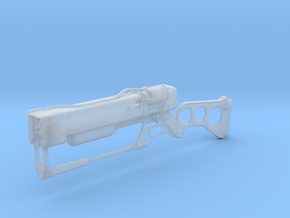 Laser Rifle (1:12 Scale) in Smooth Fine Detail Plastic