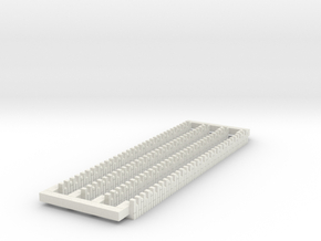 A-nori-bricks-corner1a-x4 in White Natural Versatile Plastic
