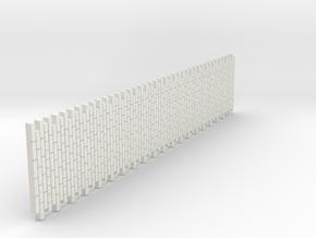 A-nori-bricks-narrow-tall80-sheet-1a in White Natural Versatile Plastic