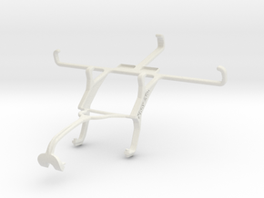 Controller mount for Xbox 360 & BLU Studio C 5 + 5 in White Natural Versatile Plastic