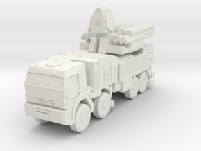 S1 Pantsir SA-22 Launcher 6mm Low Res in White Natural Versatile Plastic