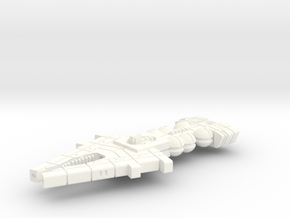 Orion (KON) Light Cruiser in White Processed Versatile Plastic