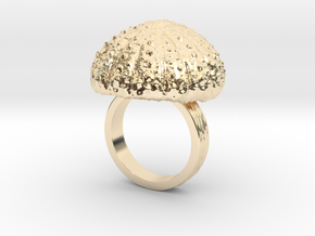 Urchin Statement Ring - US-Size 7 (17.35 mm) in 14k Gold Plated Brass