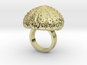 Urchin Statement Ring - US-Size 3 1/2 (14.45 mm) in 18k Gold Plated Brass