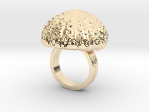 Urchin Statement Ring - US-Size 5 (15.7 mm) in 14K Yellow Gold