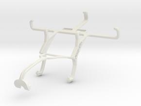 Controller mount for Xbox 360 & Unnecto Quattro X in White Natural Versatile Plastic