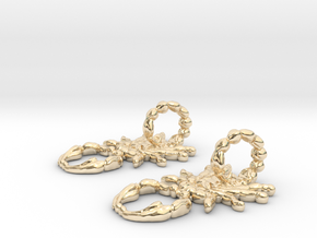 SCORPO earrings in 14K Yellow Gold