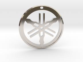 Yamaha Keychain in Platinum