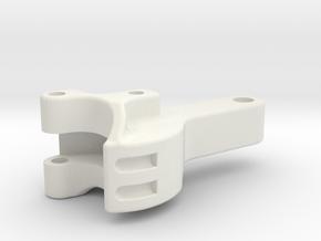 "3/4"" scale coupler in White Natural Versatile Plastic"