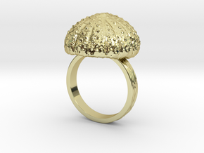 Urchin Statement Ring - US-Size 13 (22.33 mm) in 18k Gold Plated Brass