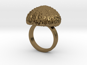 Urchin Statement Ring - US-Size 9 1/2 (19.41 mm) in Polished Bronze