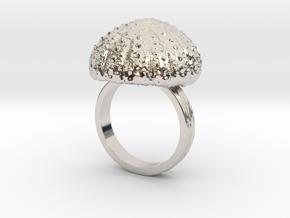 Urchin Statement Ring - US-Size 11 (20.68 mm) in Platinum