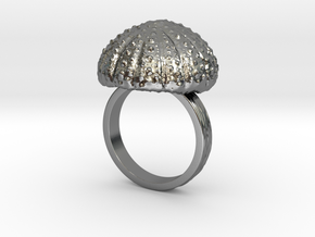 Urchin Statement Ring - US-Size 11 1/2 (21.08 mm) in Polished Silver