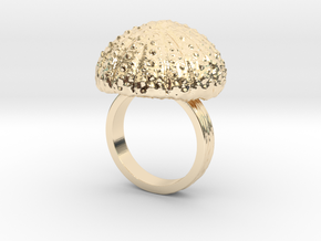 Urchin Statement Ring - US-Size 9 (18.89 mm) in 14K Yellow Gold