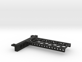 G751 M.2 Bracket With Holes For 2 Drives closed to in Black Natural Versatile Plastic