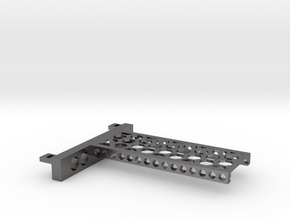 G751 M.2 Bracket With Holes For 2 Drives closed to in Polished Nickel Steel