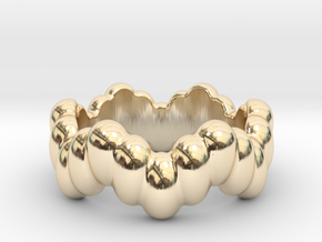 Biological Ring 16 - Italian Size 16 in 14K Yellow Gold