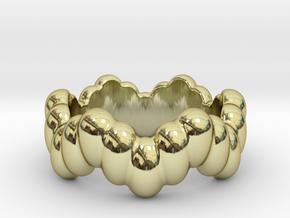 Biological Ring 20 - Italian Size 20 in 18k Gold